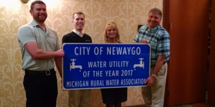 City of Newaygo Water Quality Award